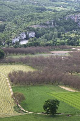 Plaines de Floirac dans le Lot