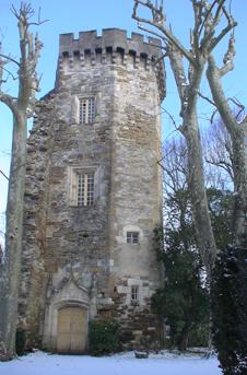 Le château d'Agude