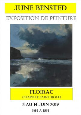 exposition June Bensted du 2 au 14 juin 2019