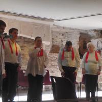 Les 6 interprètes du foyer Marthe Robin de Gramat